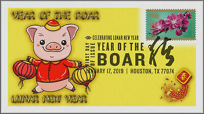 Chinese Lunar Year of the Pig - Boar 2019 First Day Cover #258