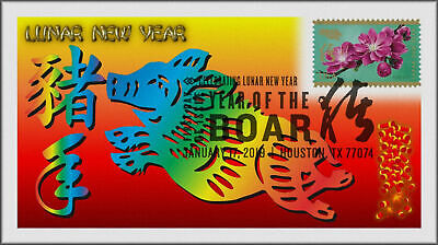 Chinese Lunar Year of the Pig - Boar 2019 First Day Cover #006