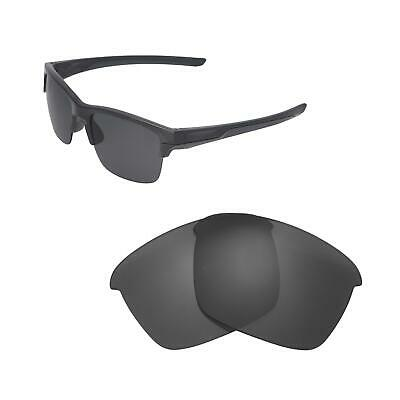 7cfcf7502d1 New Walleva Black Polarized Replacement Lenses For Oakley Thinlink  Sunglasses