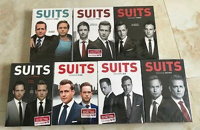 Suits: The Complete Series Seasons 1-7 (DVD, 2017,27-Disc Box Set) 1 2 3 4 5 6 7