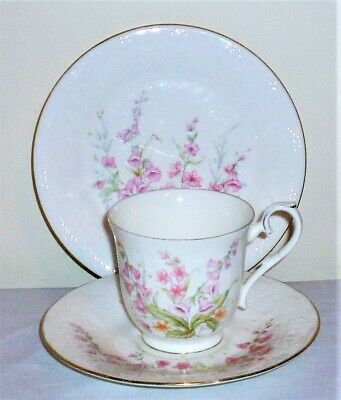 Royal Albert 1984 'for All Seasons/parkland' Bone China Cup, Saucer & Tea Plate