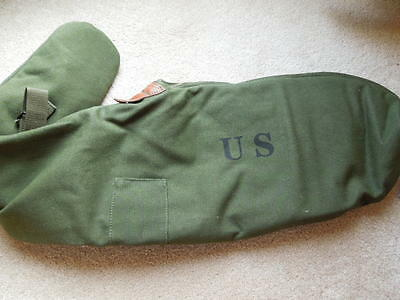.30 M1 Garand WW2 Type OD Canvis Padded Rifle Case / With Heavy Duty Zipper