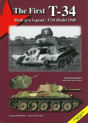 Mulsow: The First T-34, Birth of a Legend Panzer-Modellbau/Handbuch/Fotos/Risse