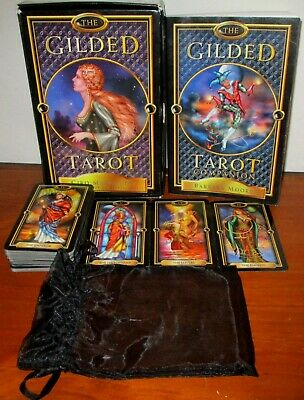 The Gilded Tarot Cards Deck And Book Set Ciro Marchetti Pre-Owned