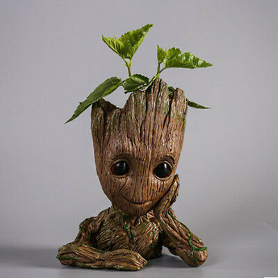 """7"""" Figure Flowerpot Guardians of The Galaxy Vol. 2 Baby Groot Figure Toy Gifts"""