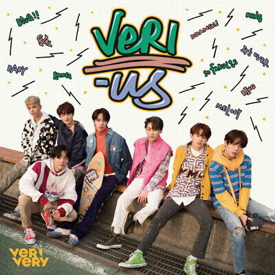 VERIVERY [VERI-US] 1st Mini Album CD+Booklet+8 Post cards+2 Photo Cards+Tracking