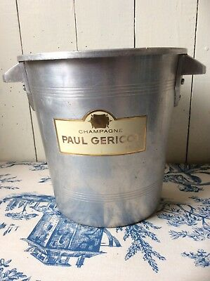 French Vintage Gericot Champagne Ice Bucket Wine Cooler (846)