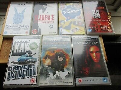 Sale - Brand New And Sealed Psp Umd Films Movies Joblot Bundle Scarface Game