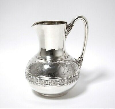 Silver jug (pitcher). USA, Tiffany & Co, 1854 - 1869.