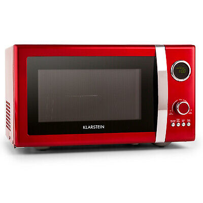 [OCCASION] Klarstein Fine Dinesty Four micro-onde multifonction 23L 800W -rouge