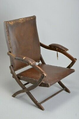 British Officers' Late Victorian Boer War Use Folding Campaign Chair. MPIJ