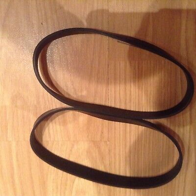 Tesco VCUP17 upright vacuum cleaner belts X 2
