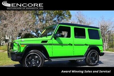 2017 Mercedes-Benz G-Class AMG G 63 4MATIC SUV W/Alien Green Editon 2017 G-Class Sport Utility 981 Miles With warranty-Trades,Financing & Shipping