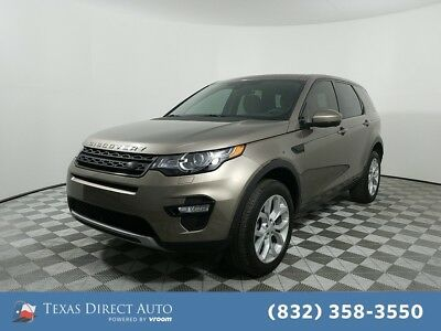 2015 Land Rover Discovery Sport HSE Texas Direct Auto 2015 HSE Used Turbo 2L I4 16V Automatic 4WD SUV Premium