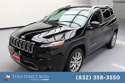 2018 Jeep Cherokee Limited Texas Direct Auto 2018 Limited Used 2.4L I4 16V Automatic FWD SUV