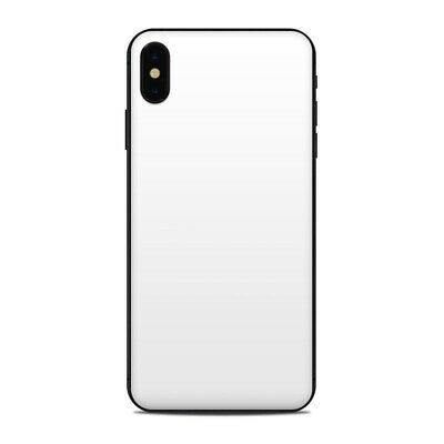 iPhone XS Max Skin - Solid White - Sticker Decal