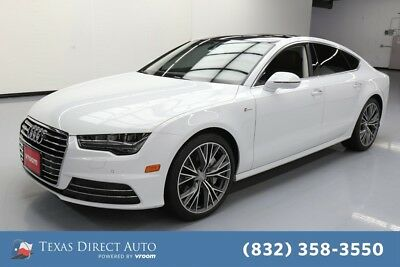 2018 Audi A7 Premium Plus quattro Texas Direct Auto 2018 Premium Plus quattro Used 3L V6 24V Automatic AWD