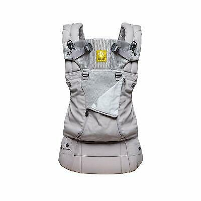 Lille Complete All Seasons Breathable 3D Mesh 6-in-1 360 Baby Carrier Stone