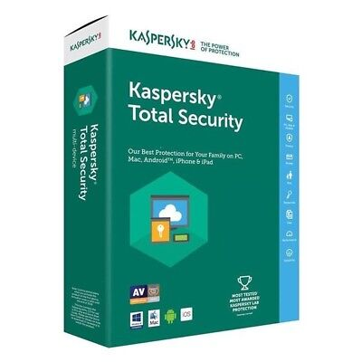 Kaspersky Total Security 2019 1 year 1 device Degital Delivery