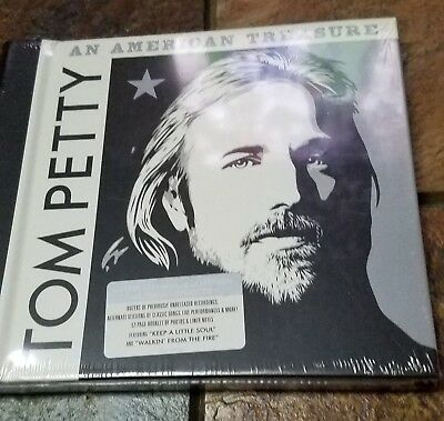 TOM PETTY - An American Treasure - 4 CD DELUXE Edition NEW Box set Heartbreakers