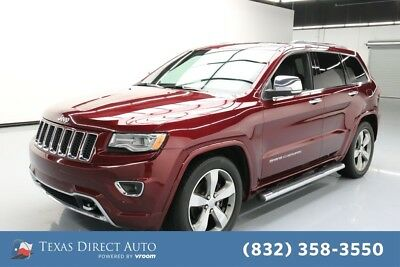 2016 Jeep Grand Cherokee Overland Texas Direct Auto 2016 Overland Used 3.6L V6 24V Automatic 4WD SUV