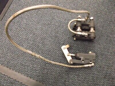 go kart classic/historic 100cc kp brake complete and working with stainless hose