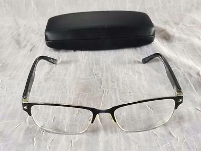 be531b38b2 Alexander Julian Eyeglass Frames Colours Scrim Men s Flex 52 16 140 Black    Gold