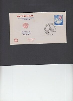 Nepal 1974 German Everest Lhotse Expedition cover