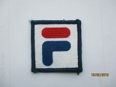 59362889bf32 SALE: VINTAGE 1980s FILA TRACKSUIT PATCH RETRO CLOTHING CASUALS BADGE 99p