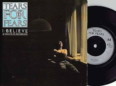 Tears For Fears ORIG UK PS 2X45 I believe EX '85 New Wave Synth Pop Rock