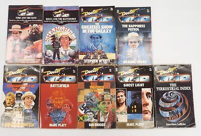 9 x DOCTOR WHO Book Pub. by TARGET BOOKS 7th Doctor Novelizations 1980/90s - P37