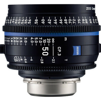 Zeiss 50mm T2.1 CP.3 Compact Prime Cine Lens (Feet) with Sony E Mount #2177-331