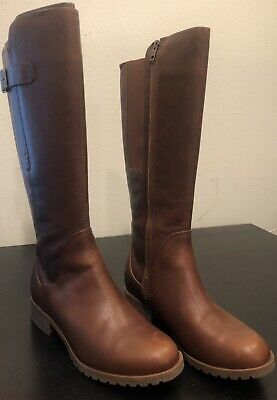 fbf0b0b0cc4 NEW WOMEN S TIMBERLAND Banfield Tall Waterproof Riding Boots ...