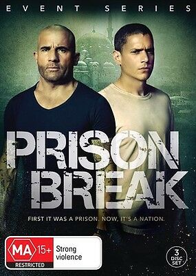 Prison Break : 2017 EVENT SERIES : Season 5 : NEW DVD