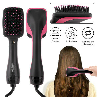 Professional Dryer Hair Blow Ionic Blower Diffuser Smooth Brush Straightener