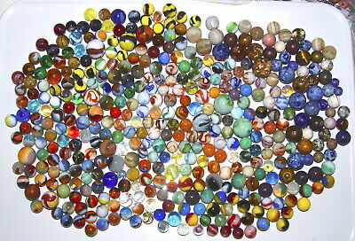Marbles: 400+ MINT Marbles; HANDPICKED For MINT Condition; (yes, all are MINT)