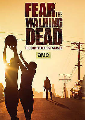 AMC Fear The Walking Dead Complete First Season 1 Complete DVD Sealed Brand New