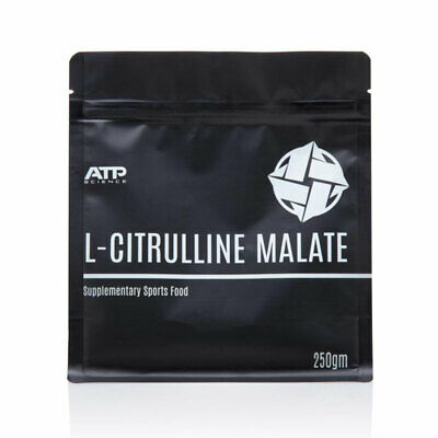 ATP Science L-Citrulline Malate -2:1 Citruline Nitric Oxide NO Vegan Gluten Free
