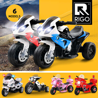 Rigo Kids Ride On Cars Motorcycle Motorbike Car Toy Electric Battery Powered