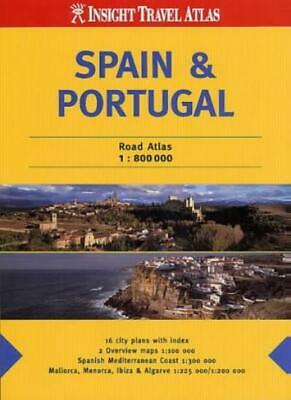 Spain and Portugal Insight Travel Atlas (Insight Travel Atlases),