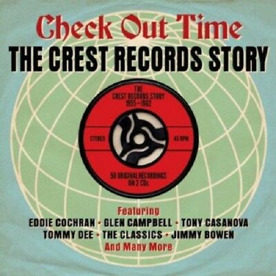Check Out Time-Crest Records Story 55-62 2-CD NEW SEALED Eddie Cochran/Classics+