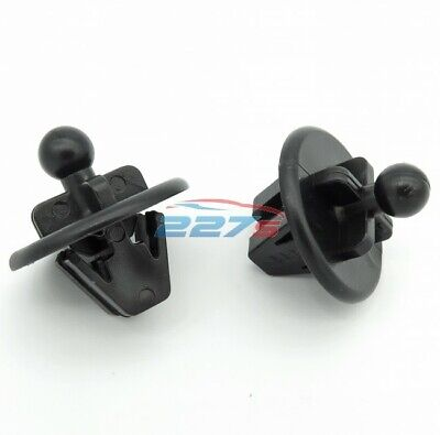 2x Ford Fusion & Fiesta Parcel Shelf Clips- Hanger Clips / Fasteners 1208271