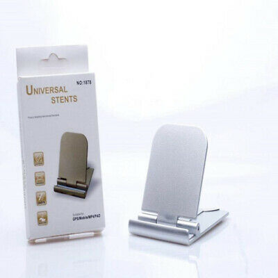 Folded Universal Desktop Smart Phone Stand Bracket Tablet Phone Holder B