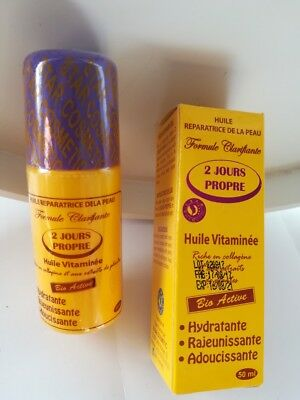 Huile Vitaminee 2 Jours Propre Super  Eclaircissant Ant- Taches