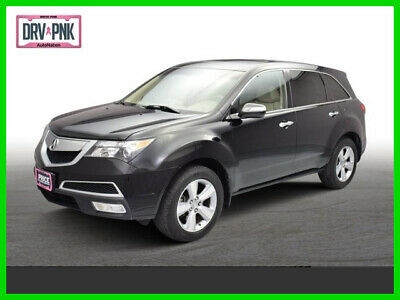 2010 Acura MDX Technology Pkg 2010 Technology Pkg Used 3.7L V6 24V Automatic All Wheel Drive SUV Premium