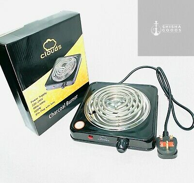 Clouds Charcoal Electric Burner 1500W For Shisha Hookah BBQ Stove! Coal Starter!