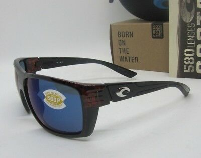 71dae08bd3 COSTA DEL MAR tortoise blue mirror HAMLIN POLARIZED 580P sunglasses! NEW IN  BOX!