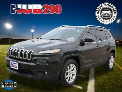 2014 Cherokee Latitude Brilliant Black Crystal Pearlcoat Jeep Cherokee with 43,201 Miles available now!