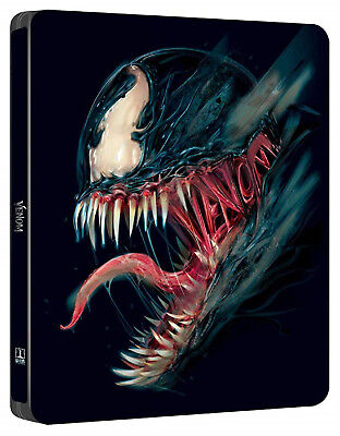 Venom - Limited Steelbook Edition (Blu-ray) NEU&OVP