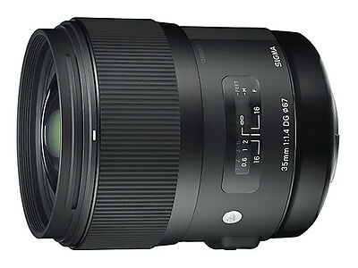 Sigma 35mm f1.4 DG HSM Lens - Canon Fit - UK STOCK